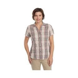 Women's Woolrich Carrabelle Short Sleeve Shirt Chalk