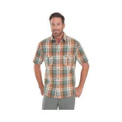 Men's Woolrich Midway Yarn-Dye Shirt Field Gray