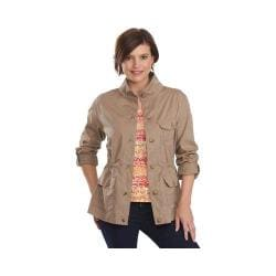 Women's Woolrich Perfect Way Tencel Jacket Faded Teak