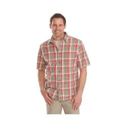 Men's Woolrich Red Creek Modern Fit Plaid Shirt Old Red