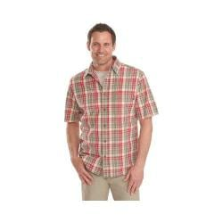 Men's Woolrich Red Creek Plaid Shirt Old Red