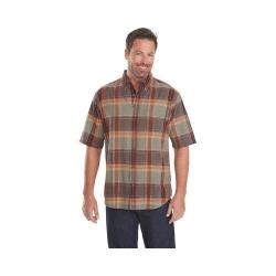 Men's Woolrich Timberline Plaid Shirt Clay