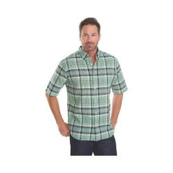 Men's Woolrich Timberline Plaid Shirt Faded Aqua