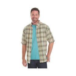 Men's Woolrich Timberline Plaid Shirt Vanilla