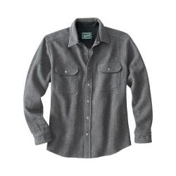 Men's Woolrich Wool Alaskan Shirt New Grey