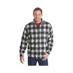Men's Woolrich Wool Buffalo Shirt Black/White