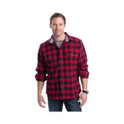Men's Woolrich Wool Buffalo Shirt Red/Black