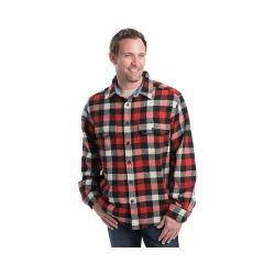 Men's Woolrich Wool Buffalo Shirt Red/White/Black/Plaid