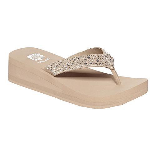 Women's Yellow Box Africa Sandal Taupe
