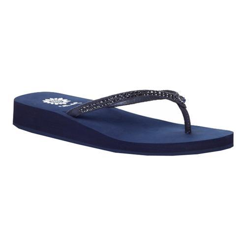 ... Women's Shoes; /; Women's Sandals. Women's Yellow Box Jello Sandal  Midnight Leather