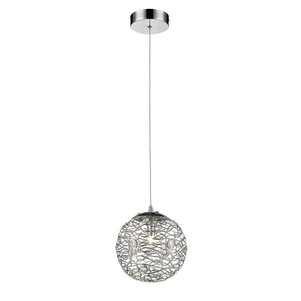 Avery Home Lighting Nabul 1-light Chrome Mini Pendant