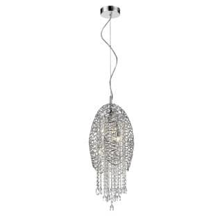 Avery Home Lighting Nabul 3-lights Chrome Pendant