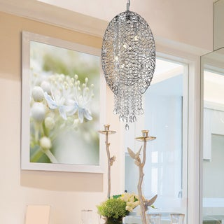 Avery Home Lighting Nabul 5-lights Chrome Pendant