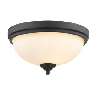 Z-Lite Bordeaux 2-lights Bronze Flush Mount