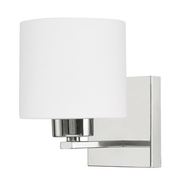 Capital Lighting Steele Collection 1 Light Chrome Wall Sconce