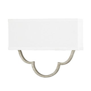 Capital Lighting Blair Collection 2-light Antique Silver Wall Sconce