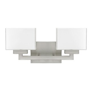 Capital Lighting Donny Osmond Tahoe Collection 2-light Brushed Nickel Bath/ Vanity Light