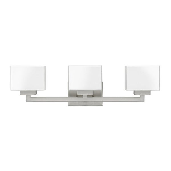 Shop capital lighting donny osmond tahoe collection 3 - 8 light bathroom fixture brushed nickel ...
