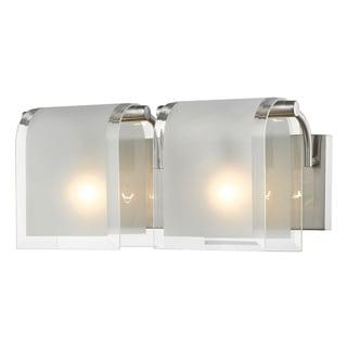 Z-Lite Zephyr 2-lights Brushed Nickel Vanity