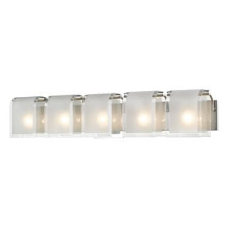 Z-Lite Zephyr 5-lights Brushed Nickel Vanity