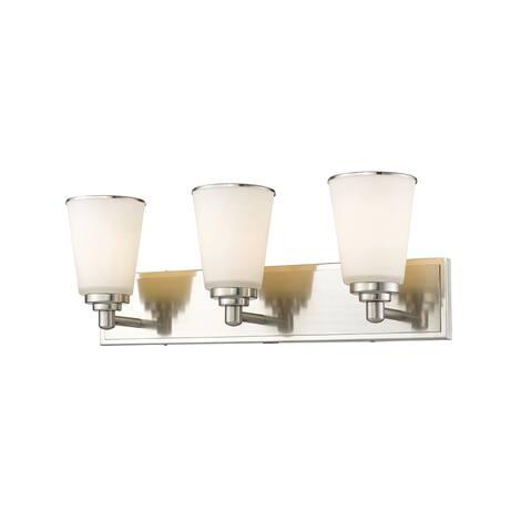 Avery Home Lighting Jarra 3-lights Brushed Nickel Vanity