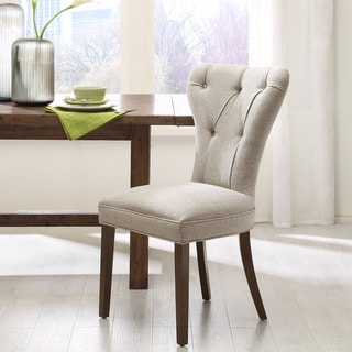 Madison Park Jocelyn Linen Dining Chair (Set of 2)