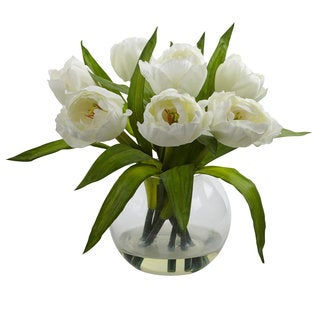 Tulips Arrangement w/Vase