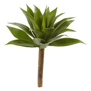32-inch Agave Plant w/Stem - Green