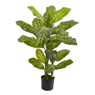 4-foot Dieffenbachia Plant (Real Touch)