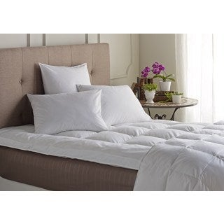 Natural Down Featherbed Mattress Topper - White