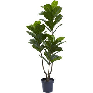 65-inch Fiddle Leaf Tree UV Resistant (Indoor/Outdoor)