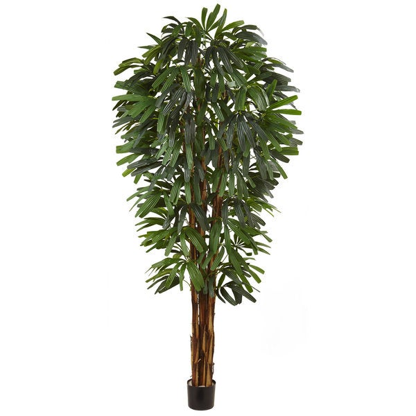 84-inch Raphis Silk Palm Tree. Opens flyout.