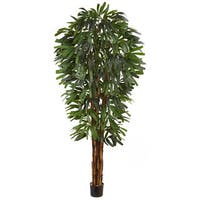 84-inch Raphis Silk Palm Tree