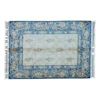 Silken Esfahan 400 KPSI Hand-knotted Oriental Rug (5'7 x 8'2)