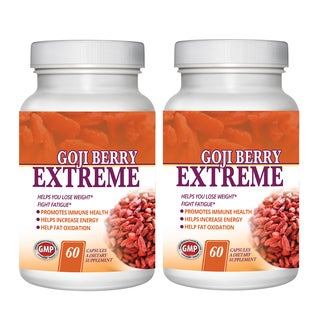 Goji Berry All Natural Antioxidant and Weight Loss Formula Fruit Complex (120 Capsules)
