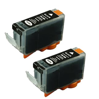 2PK PGI-5Bk Black Compatible Inkjet Cartridge For Canon PIXMA IP4200 5200 MP500 MP800 (Pack of 2)