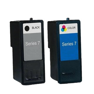 2PK DH828 + DH929 Black & Color Compatible Inkjet Cartridge For Dell Inkjet A966 A968 A968W (Pack of 2)