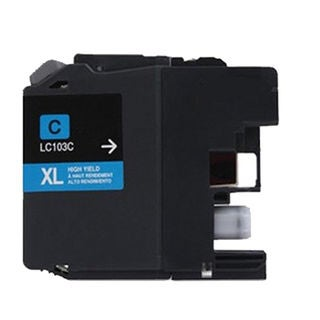 1 PK Compatible LC103 C XL Inkjet Cartridge For Brother MFCAN-J4410DW MFCAN-J4510DW (Pack of 1)