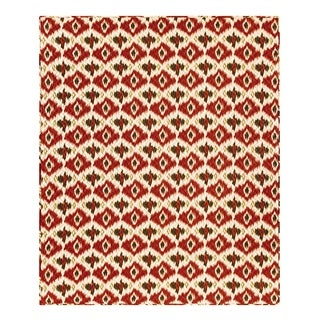 Ikat Reversible Cotton Throw