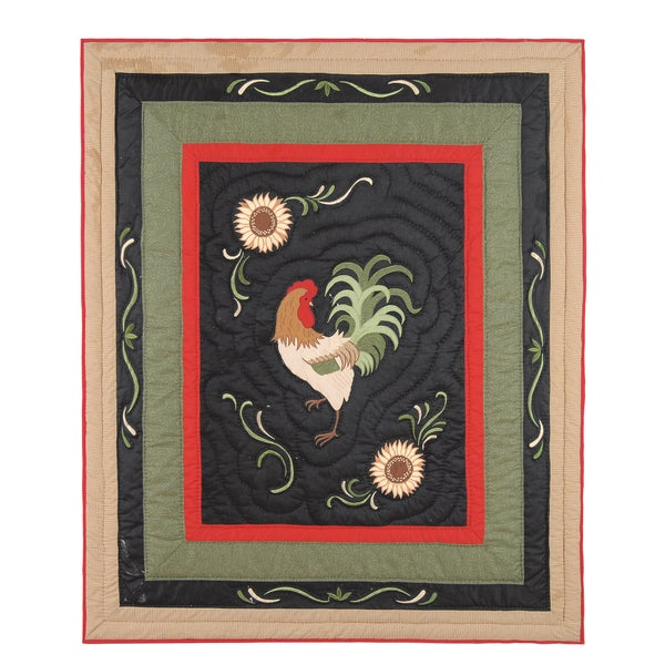Harvest Rooster Throw