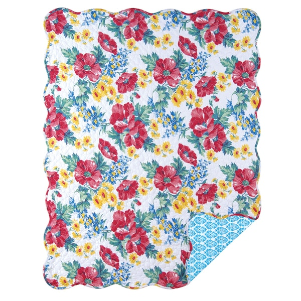 Madeline Reversible Cotton Throw