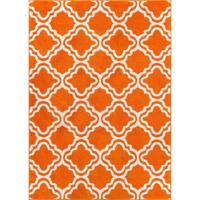 Well Woven Bright Modern Lattice Trellis Geometric Rug - 3'3 x 5'
