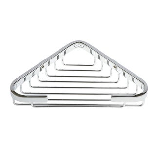 Italia Naples Chrome Corner Shower Basket