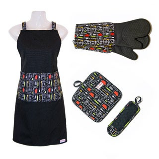 Le Chef 4PC Set In Kitchen Tools Print Diamond