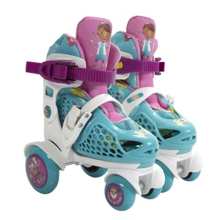 Playwheels Disney Doc McStuffins Junior Size 6-9 Big Wheel Skates