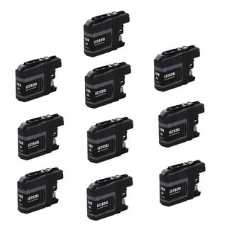 10 PK Compatible LC203 BK XL Inkjet Cartridge For Brother DCP-J4120DW MFC-J4420DW (Pack of 10)