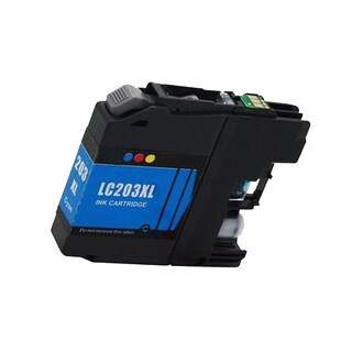 1 PK Compatible LC203 C XL Inkjet Cartridge For Brother DCP-J4120DW MFC-J4420DW (Pack of 1)