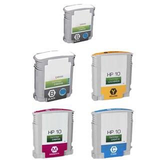 5PK C4841A - C4844A C Y M 2BK Compatible Ink Cartridge For HP Designjet 1000 1100 1100d (Pack of 5)