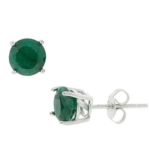 d6cfbca030a0f Buy Emerald Gemstone Earrings Online at Overstock | Our Best ...