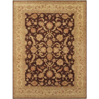 ABC Accents Classic Floral Sultanabad Vegetable Dyed Rug (6' x 9')